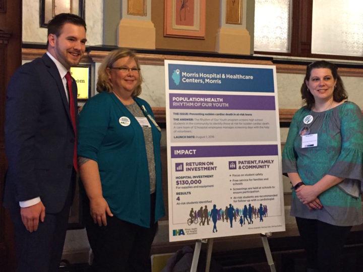 Morris Hospital Representatives Showcase Quality Improvement Initiative