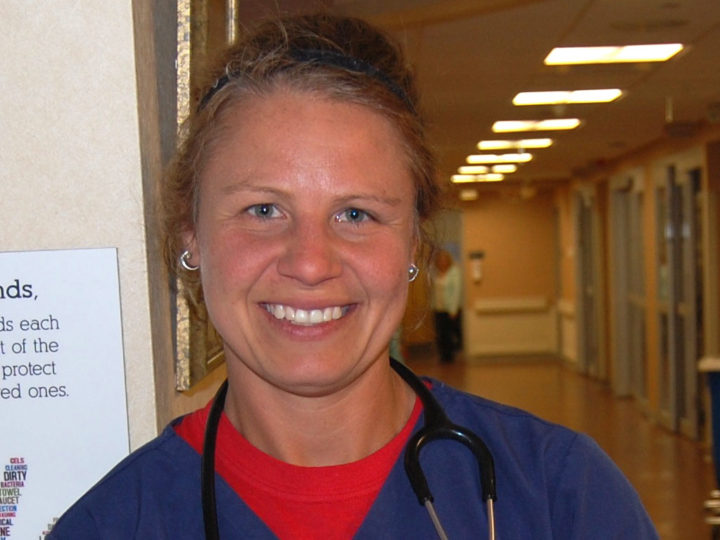 Morris Hospital ICU Nurse Repeats as Fire Starter of the Month