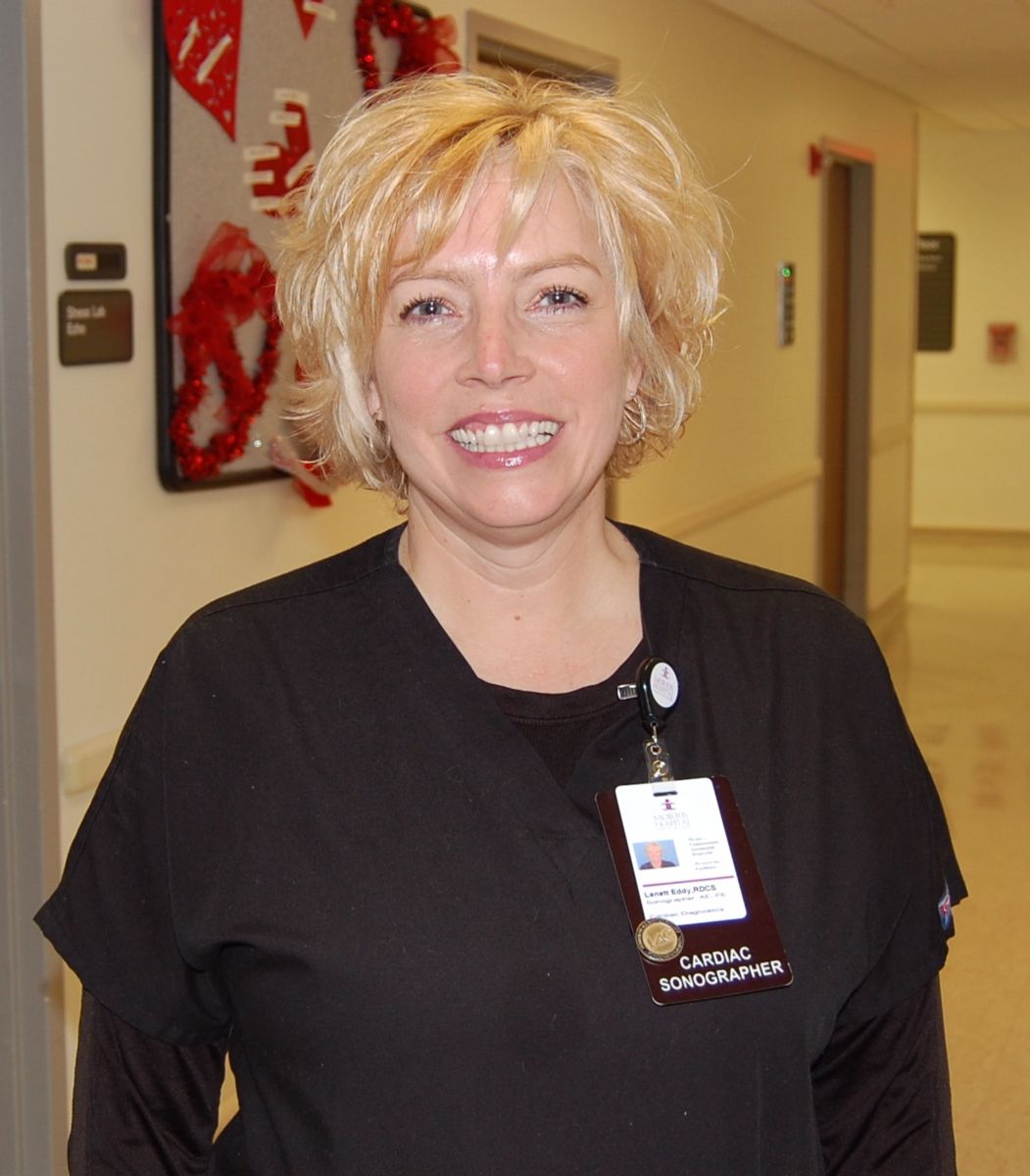 morris hospital honors cardiac sonographer as fire starter of the