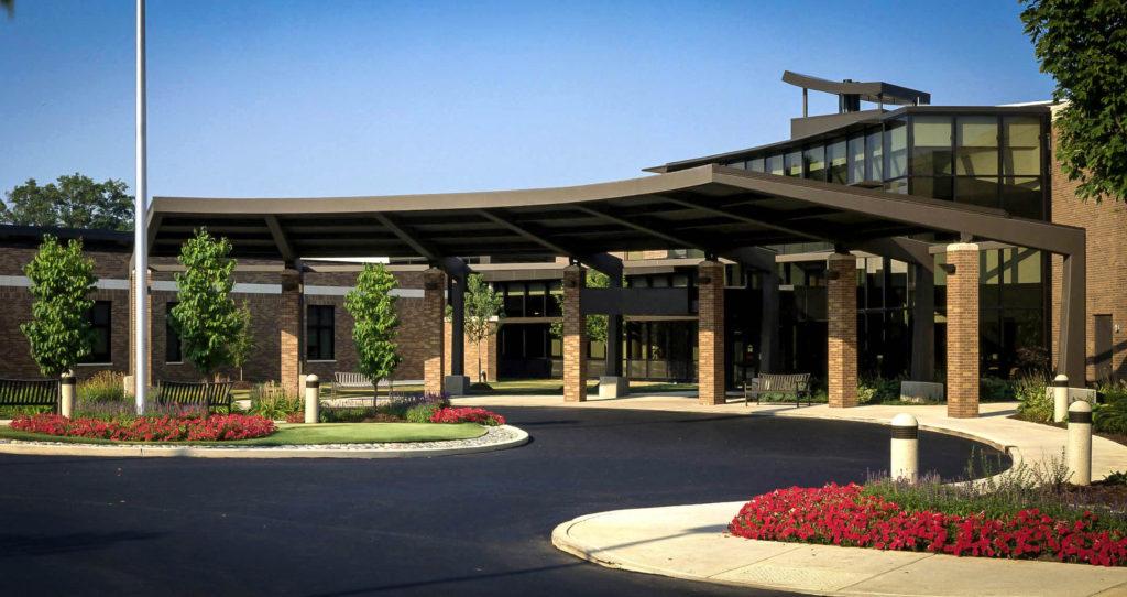 Map of Morris Hospital in Morris, Illinois