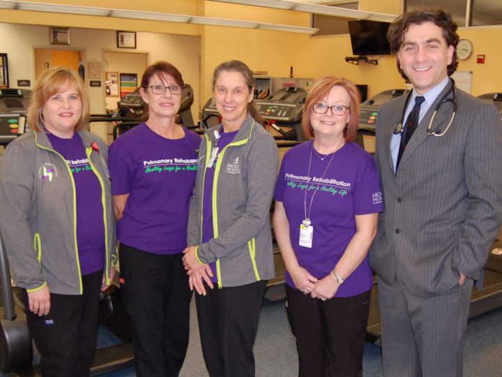 Morris Hospital Receives Prestigious Pulmonary Rehabilitation Certification