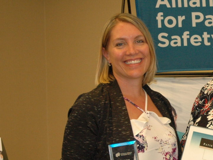 Morris Hospital Employee Receives Safety Champion Award