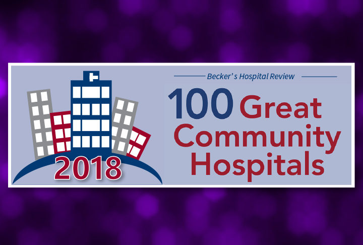 Morris Hospital Three-Peats on Becker's 100 Great Community Hospitals List