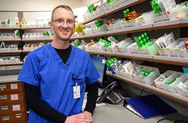 Pharmacy Technician Honored as September Fire Starter of the Month