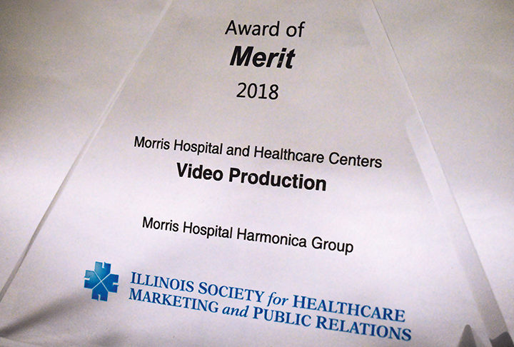 Morris Hospital receives three awards at ISHMPR conference