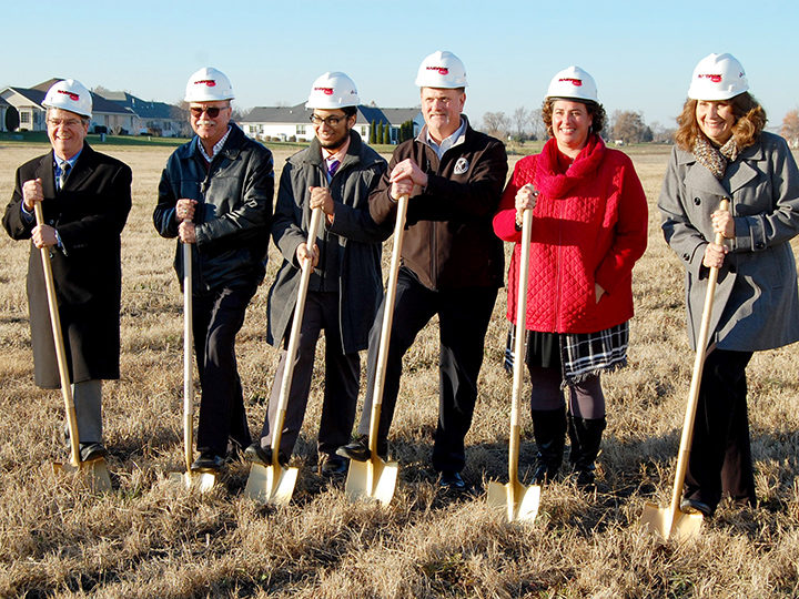 Morris Hospital Breaks Ground for Medical Facility in Diamond