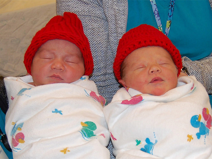Morris Hospital February Babies Wear Red for Heart Disease