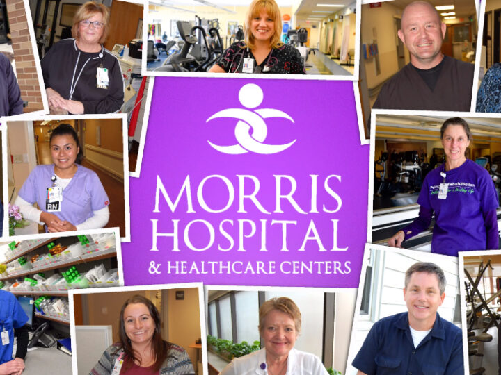 This is Morris Hospital