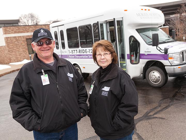 Morris Hospital Seeking Patient Transportation Volunteers