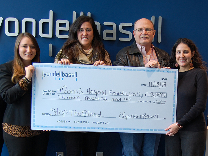 Morris Hospital Foundation Receives Significant Gift from LyondellBasell