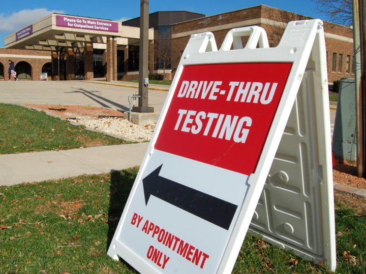 Morris Hospital COVID Testing Supply is Limited