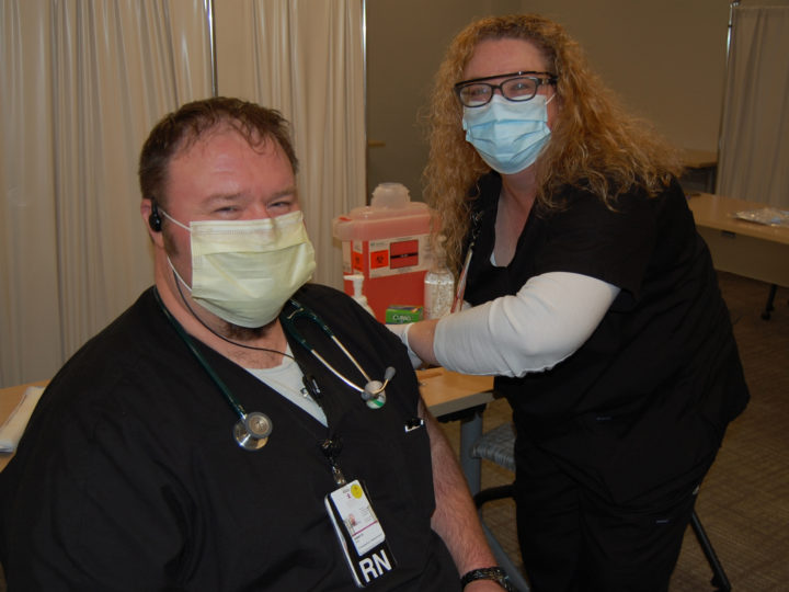 Morris Hospital Administers First COVID Vaccines
