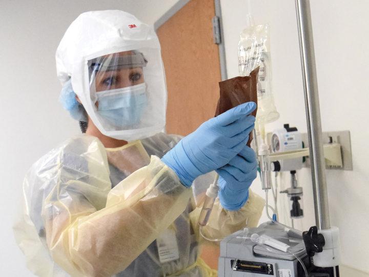 COVID-19 Treatment Proving Effective At Morris Hospital