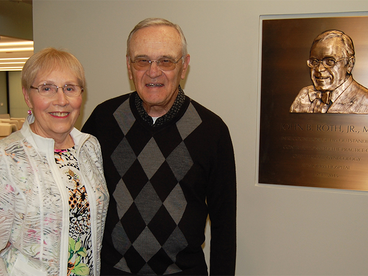 Morris Hospital Medical Staff Honors Retired Physician